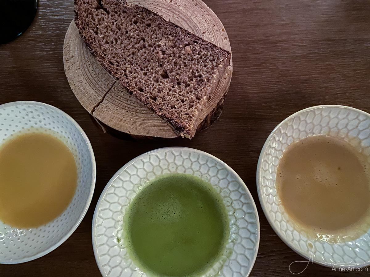 Soßen und Brot