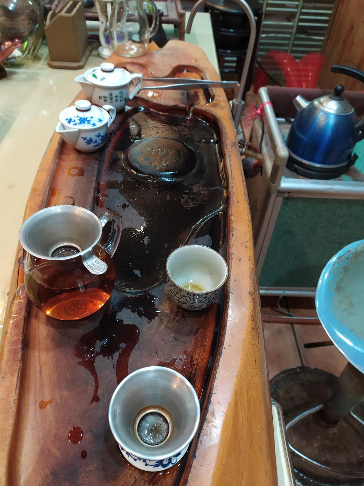 Teebereitung Taiwan von Alice Grünfelder